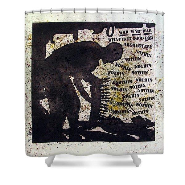 D U Rounds Project, Print 35 Shower Curtain