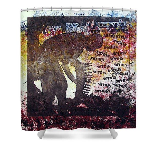 D U Rounds Project, Print 37 Shower Curtain