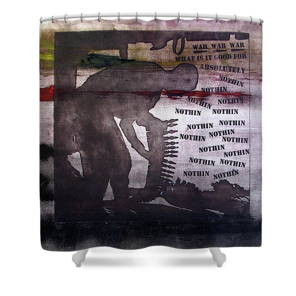 D U Rounds Project, Print 42 Shower Curtain