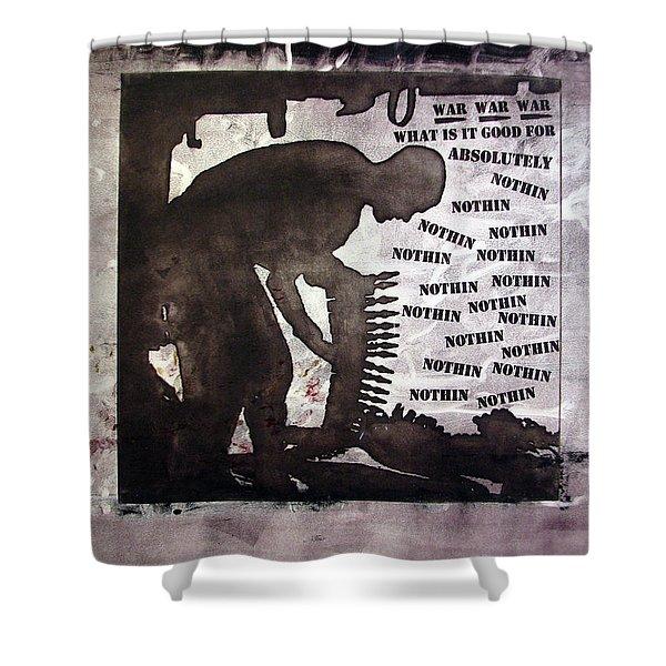 D U Rounds Project, Print 43 Shower Curtain