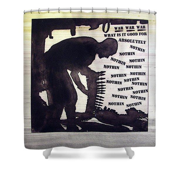 D U Rounds Project, Print 44 Shower Curtain
