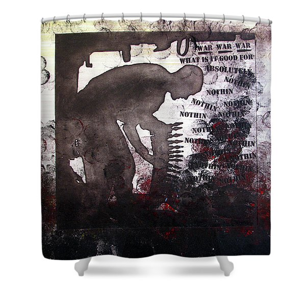 D U Rounds Project, Print 46 Shower Curtain