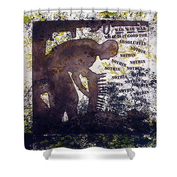D U Rounds Project, Print 47 Shower Curtain