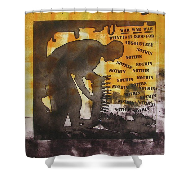 D U Rounds Project, Print 49 Shower Curtain