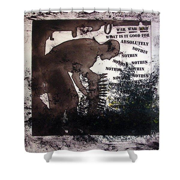 D U Rounds Project, Print 50 Shower Curtain