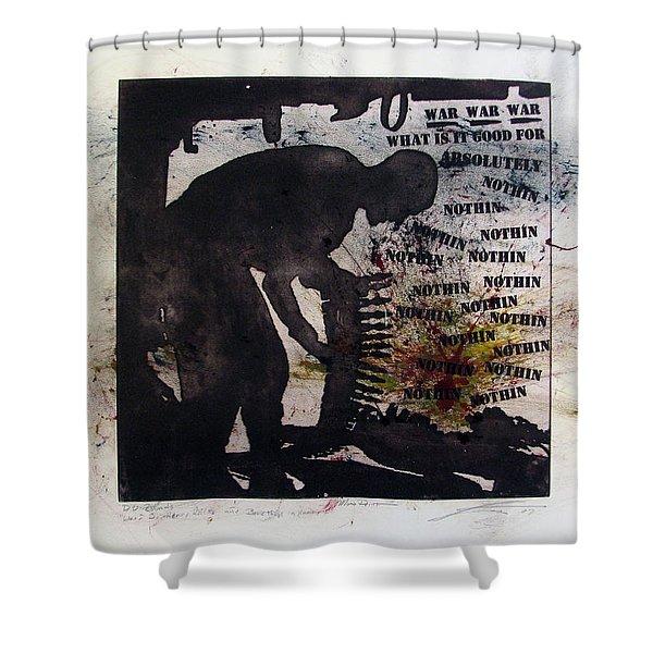D U Rounds Project, Print 53 Shower Curtain