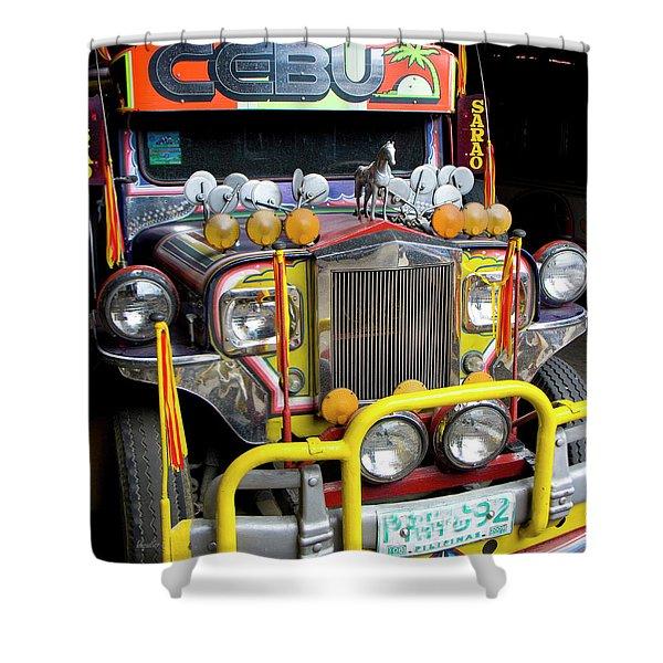 Da Jeepney Shower Curtain