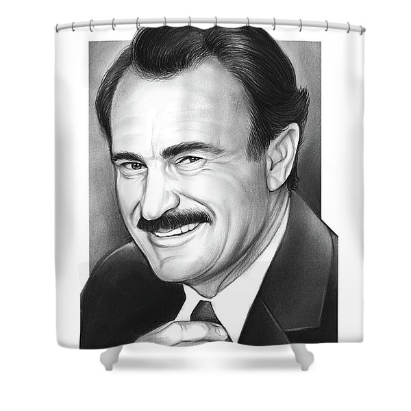 Dabney Coleman Shower Curtain
