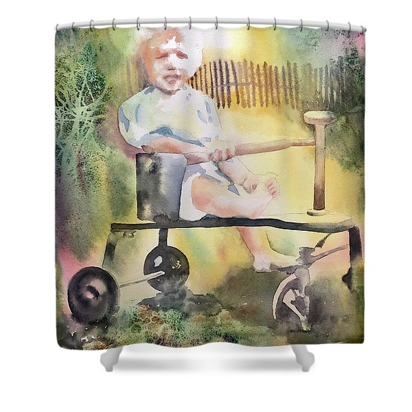 Dad Circa 1934 Shower Curtain