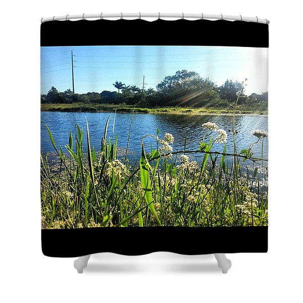 Nature In Bloom Shower Curtain