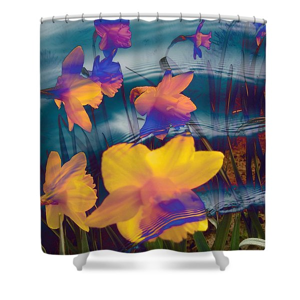 Daffodils #1 Shower Curtain