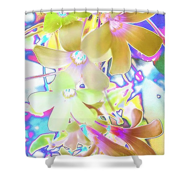 Dainty Bloosoms Shower Curtain