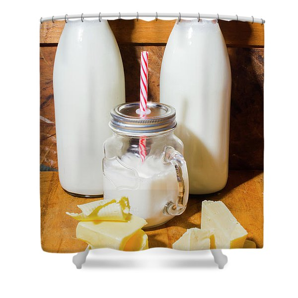 Dairy Delights Shower Curtain