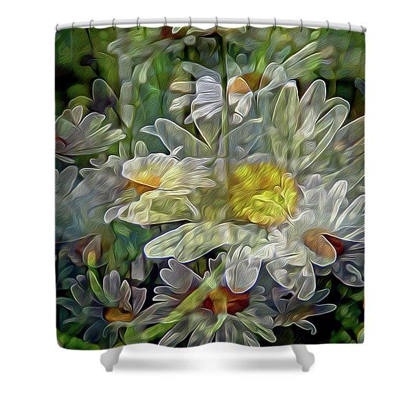 Daisy Mystique 8 Shower Curtain