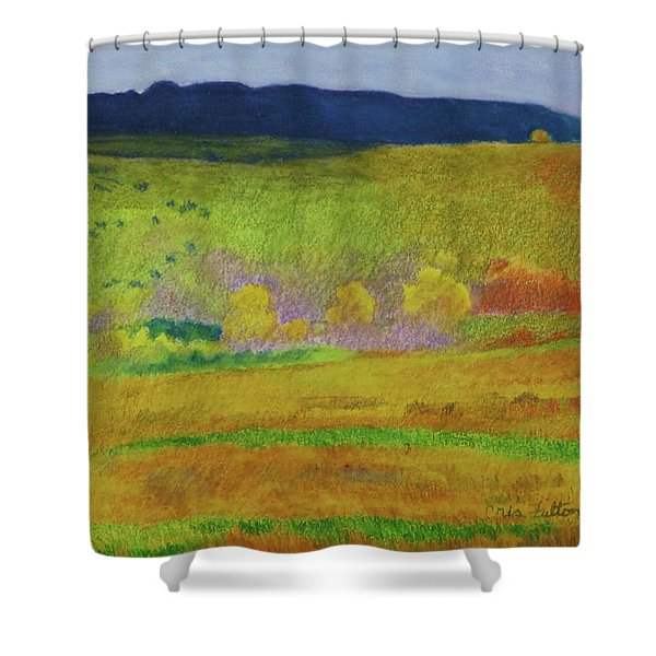 Shower Curtain featuring the painting Dakota Dream by Cris Fulton