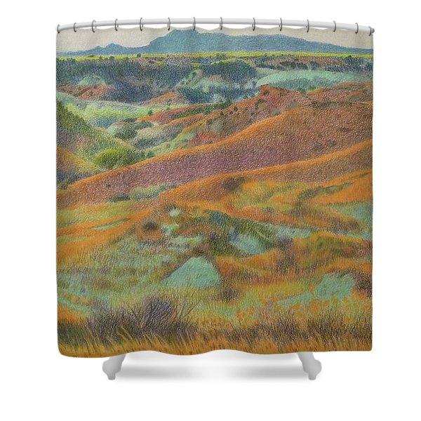 Dakota October Shower Curtain
