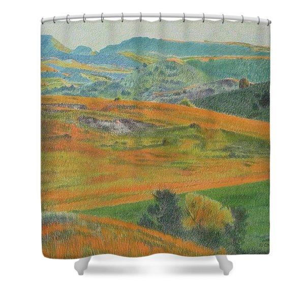 Dakota Prairie Dream Shower Curtain