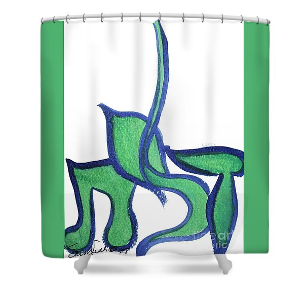 Dalit Nf1-176 Shower Curtain