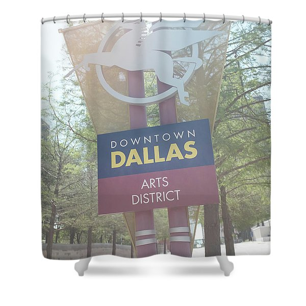 Dallas Arts District Shower Curtain
