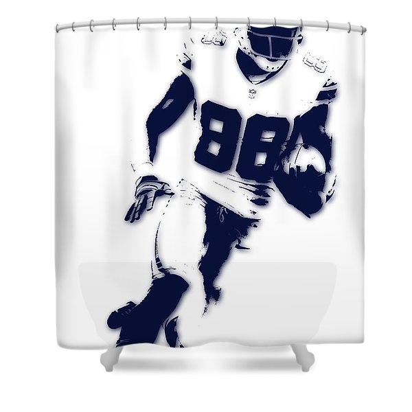 Dallas Cowboys Dez Bryant Shower Curtain