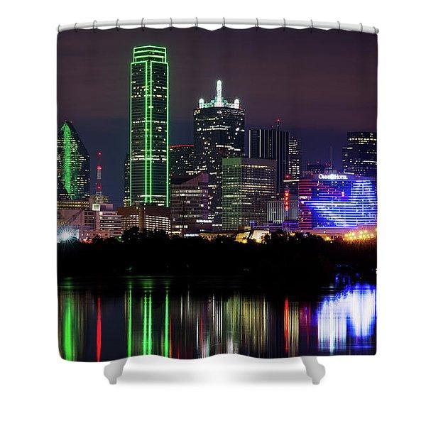 Dallas Cowboys Star Night Shower Curtain
