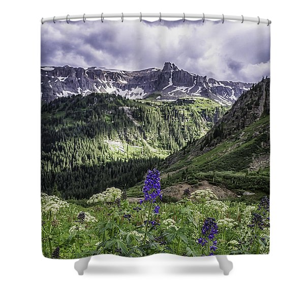 Dallas Peak Shower Curtain