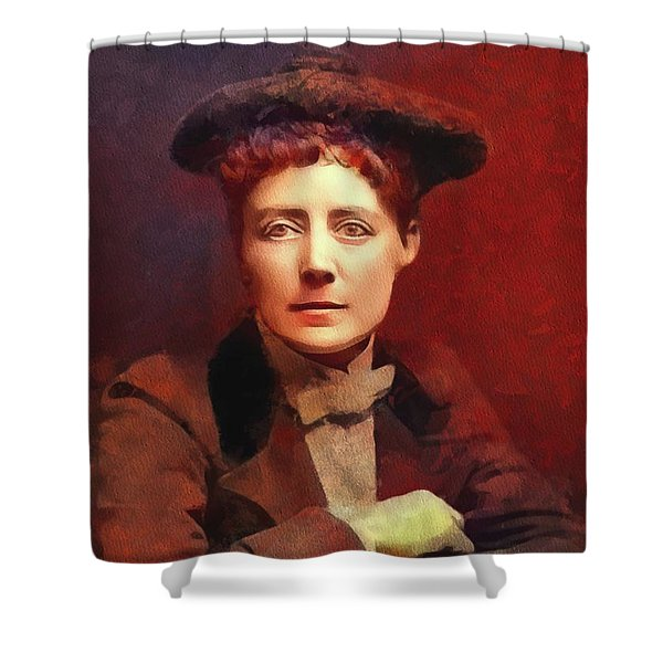 Dame Ethel Smyth, Suffragette And Composer Shower Curtain