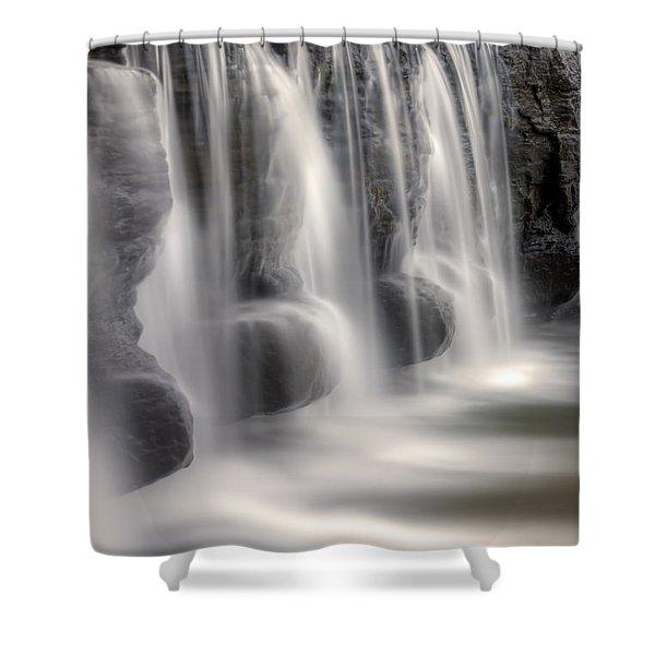 Dams Edge Shower Curtain