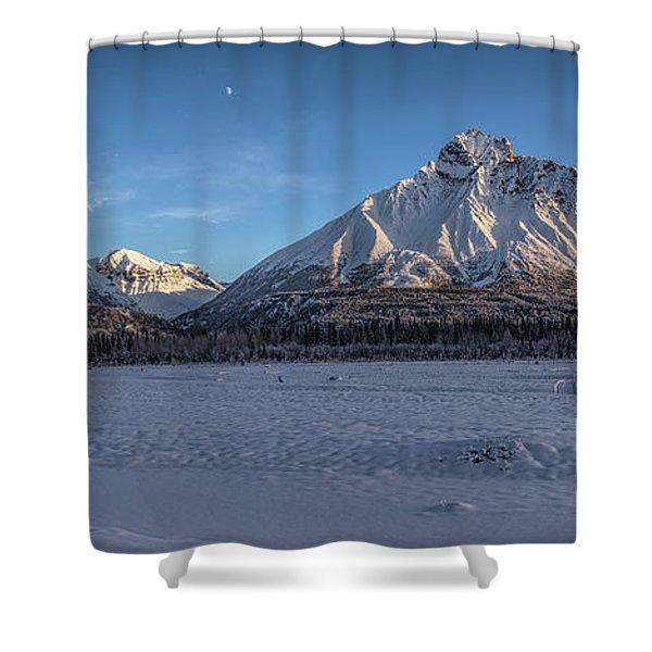 Dan Creek Shower Curtain