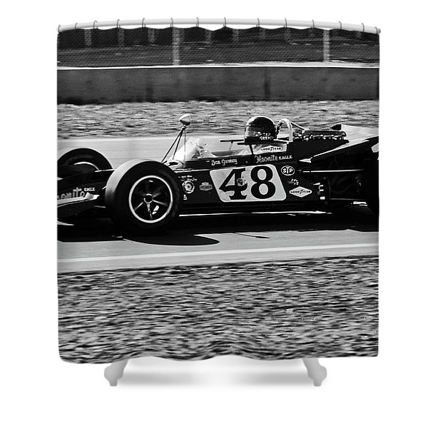 Dan Gurney For The Win Shower Curtain