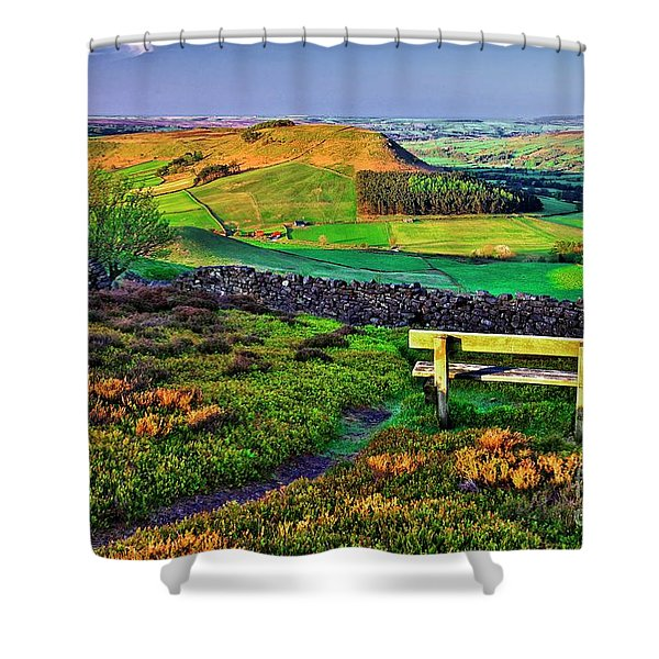 Danby Dale Yorkshire Shower Curtain