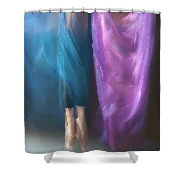 Jete Battu Shower Curtain