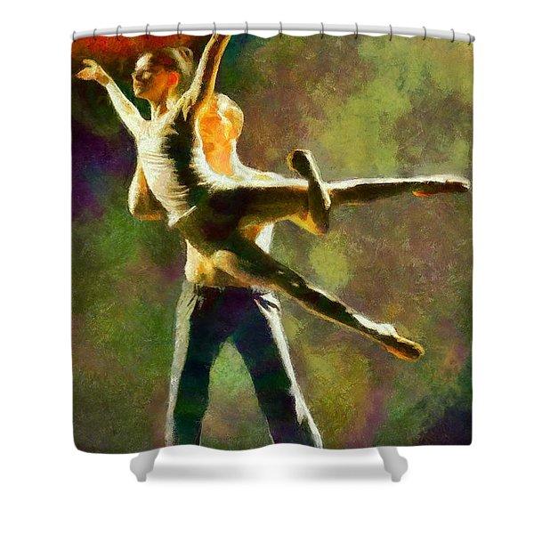 Dance 3 Shower Curtain
