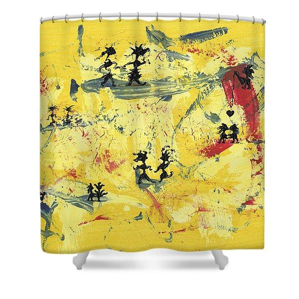 Dance Art Creation 1d9 Shower Curtain