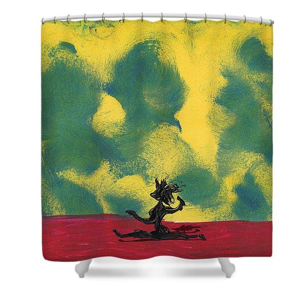 Dance Art Dancer Shower Curtain