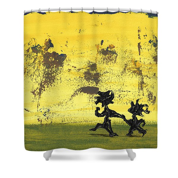 Dance Art Dancing Couple 147 Shower Curtain
