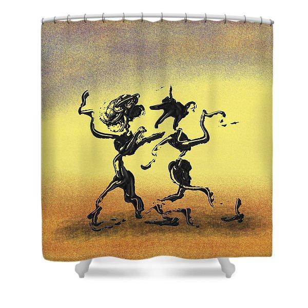 Dance I Shower Curtain