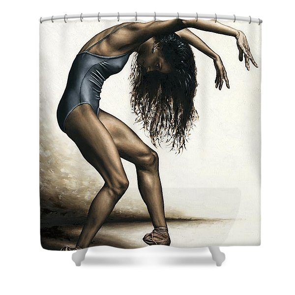 Dance Intensity Shower Curtain