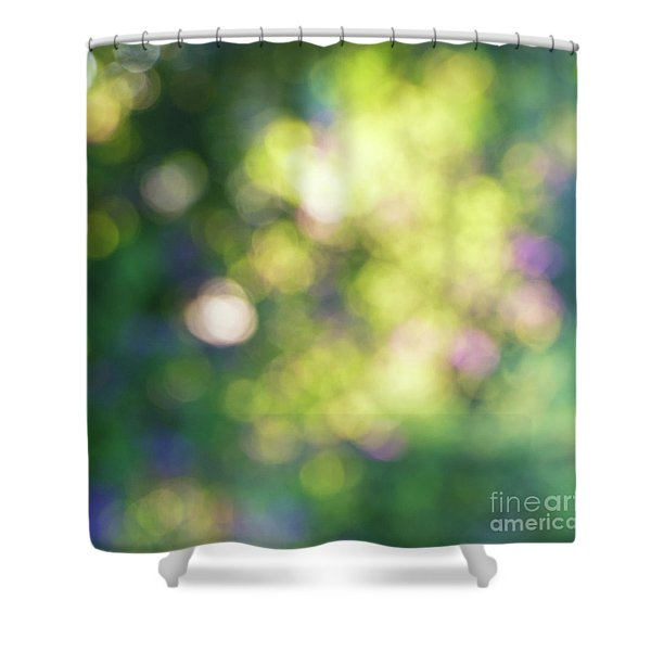 Dance Of Dappled Light Shower Curtain