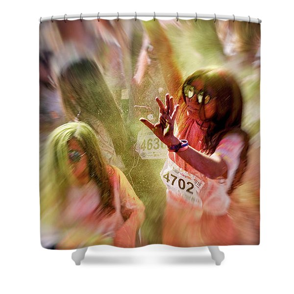 Dance Shower Curtain