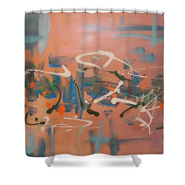 Dance Party Shower Curtain