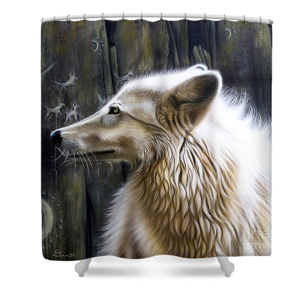 Dance -the Moon Shower Curtain