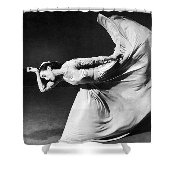 Dancer Martha Graham Shower Curtain