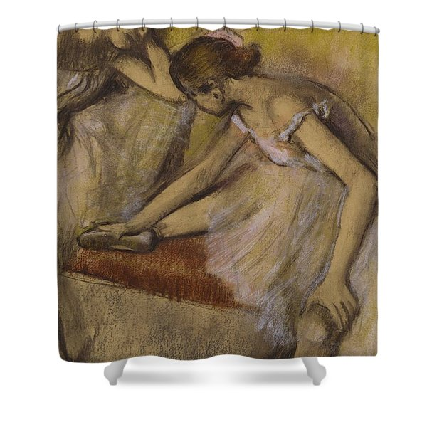 Dancers In Repose Shower Curtain