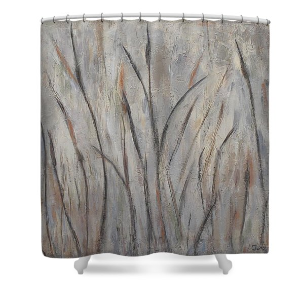 Dancing Cattails 2 Shower Curtain