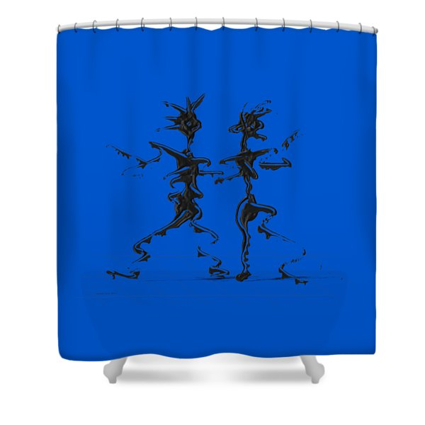 Dancing Couple 2 Shower Curtain