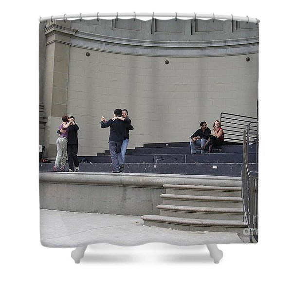 Shower Curtain featuring the photograph Dancing In Golden Gate Park by Cynthia Marcopulos