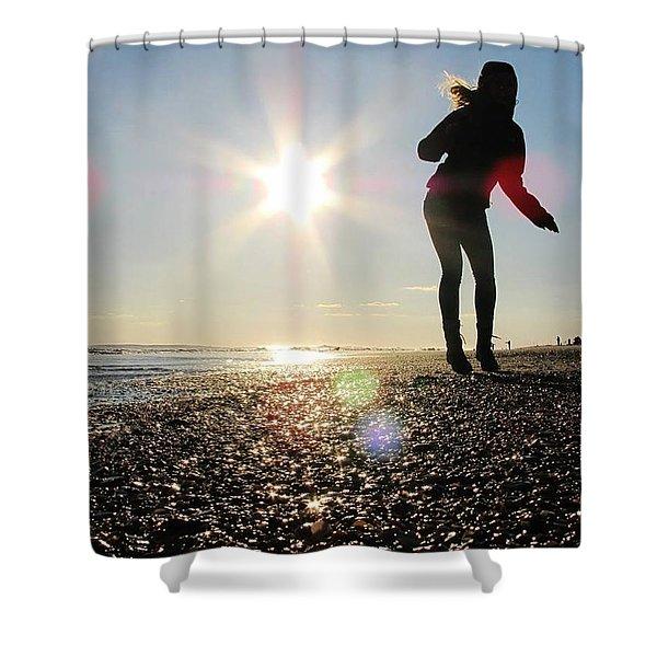 Dancing In The Sun Shower Curtain