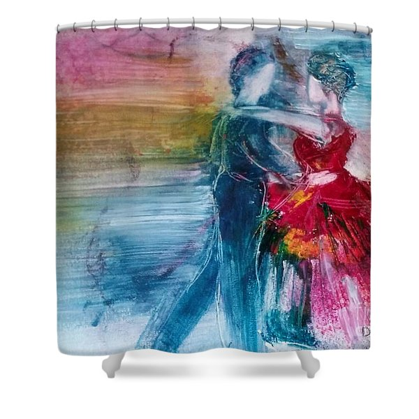 Dancing Into Eternity Shower Curtain