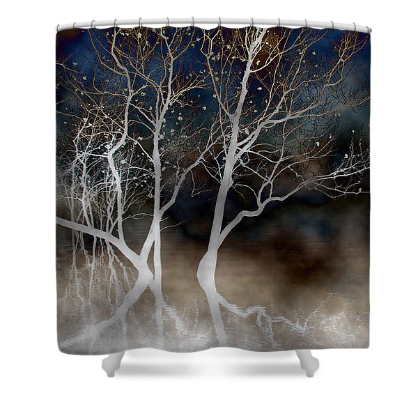 Dancing Tree Altered Shower Curtain
